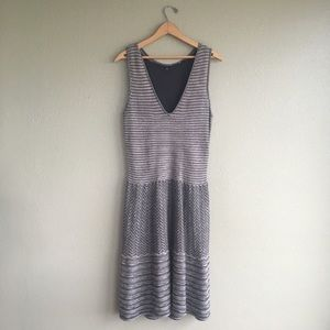 Anthropologie Knitted and Knotted Sweater Dress